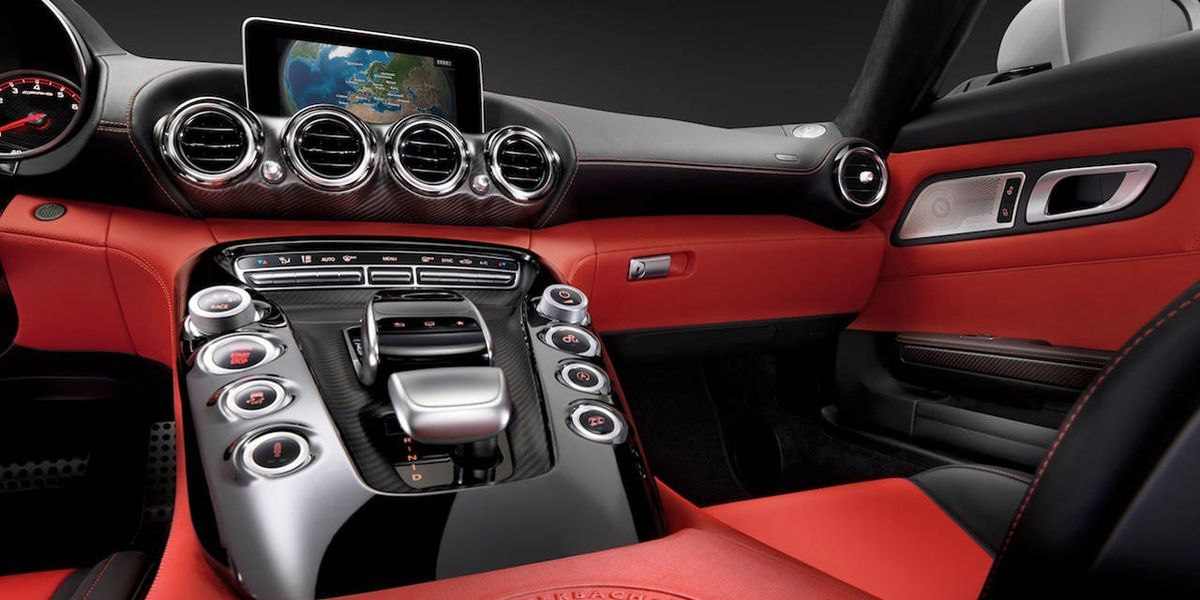 Mercedes Benz AMG GT Interior Photos First Look