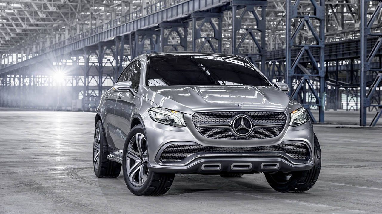 Mercedes Benz Concept Coupe Suv First Looks