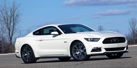 2015 Ford Mustang GT 50th Anniversary - Photos