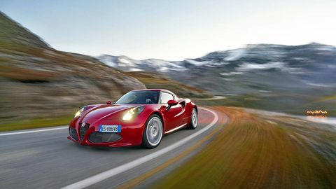 no more speculation! we roll the u.s.-spec alfa 4c onto a set of scales.