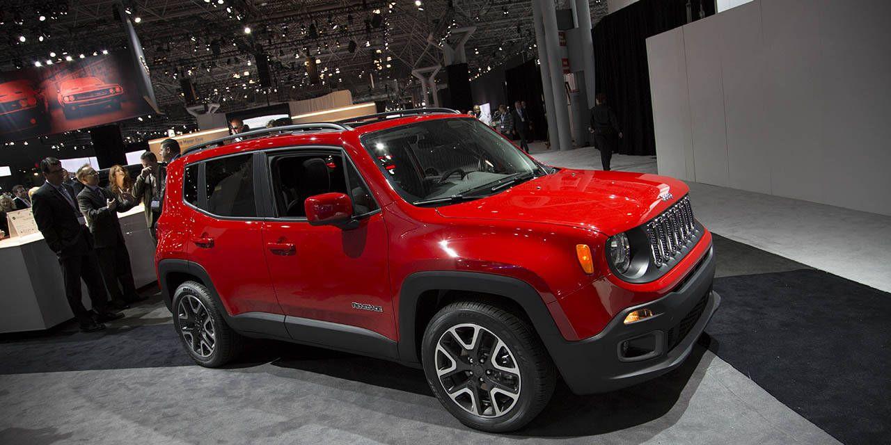 Photos: 2015 Jeep Renegade at NYIAS