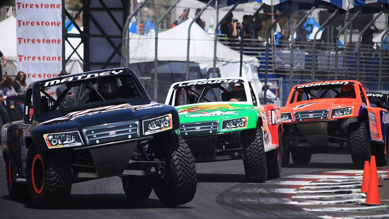 Ride along with a Stadium Super Truck at Long Beach