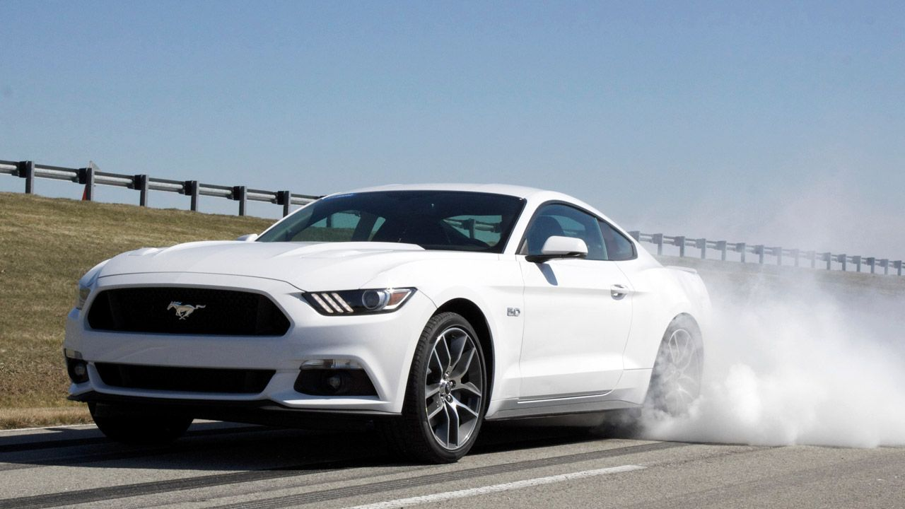 Commence Burnouts: 2015 Mustang GT gets standard line lock