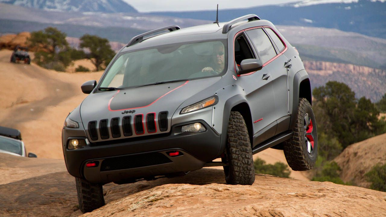 lifted jeep cherokee dakar - automotive design