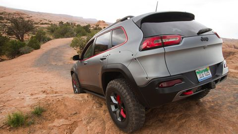 Lifted Jeep Renegade >> Lifted Jeep Cherokee Dakar - Automotive Design