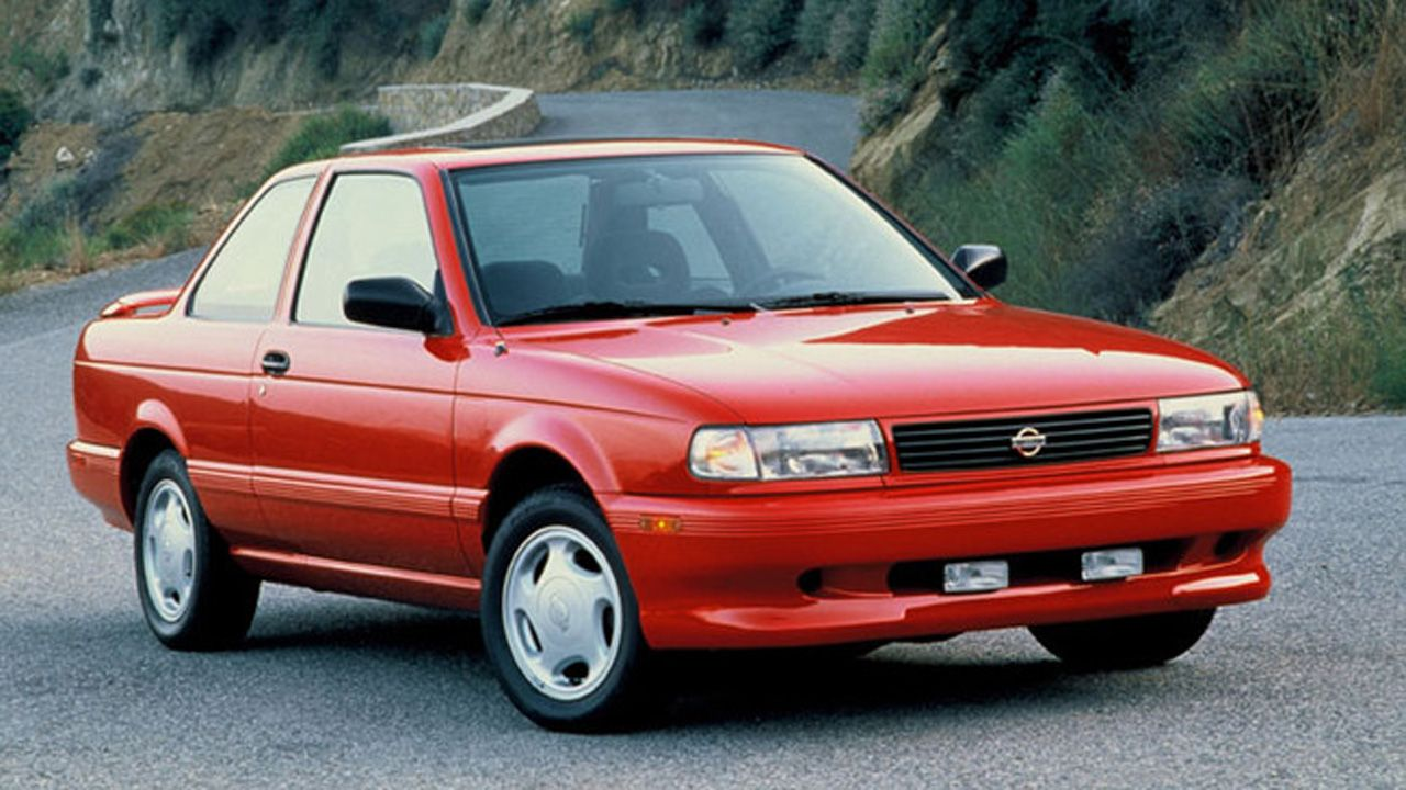 Drive Flashback: 1990 Nissan Sentra SE-R and 240SX SE