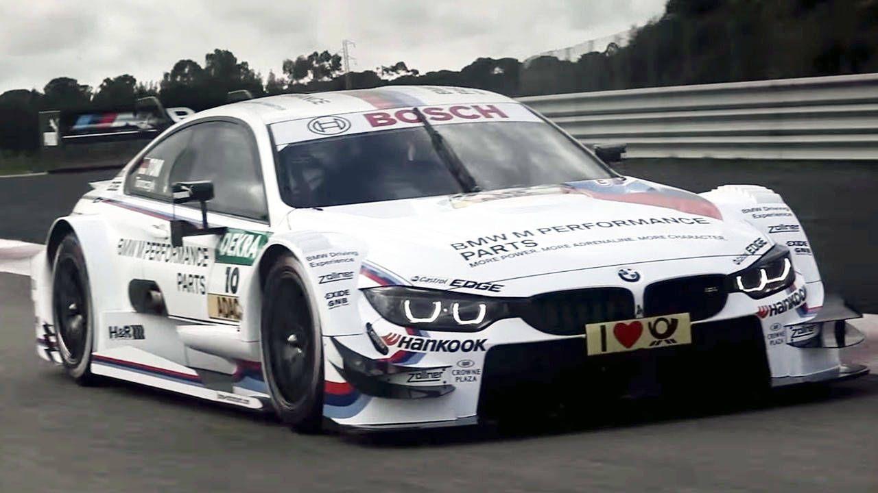 BMW readies their M4 DTM for the 2014 touring car season
