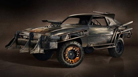 Mad Max Would Not Have Driven A Ford Maverick Video Games