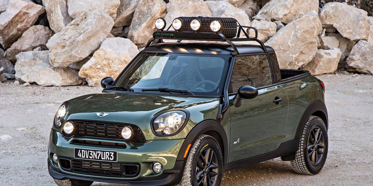 Mini Paceman Adventure Pickup Concept
