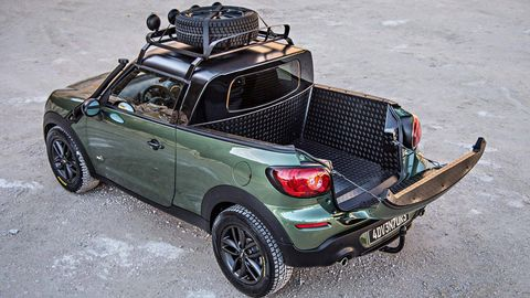 The Paceman Adventure Pickup Truck Is Coolest Mini Yet