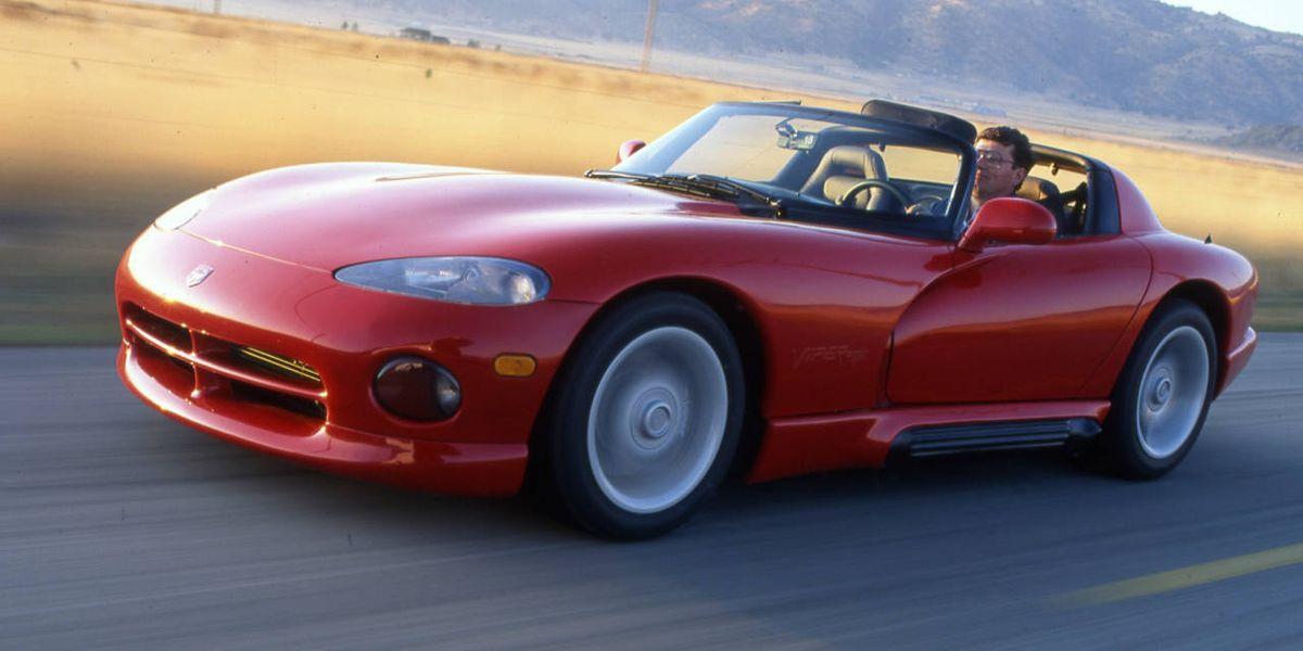 6e4e72dc83f8ef Snake Bitten  1992 Dodge Viper - Drive Flashback
