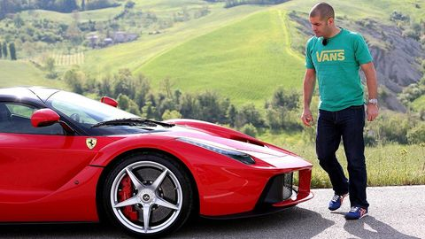Tire, Wheel, Automotive design, Vehicle, Performance car, Rim, Supercar, Car, Red, Alloy wheel,