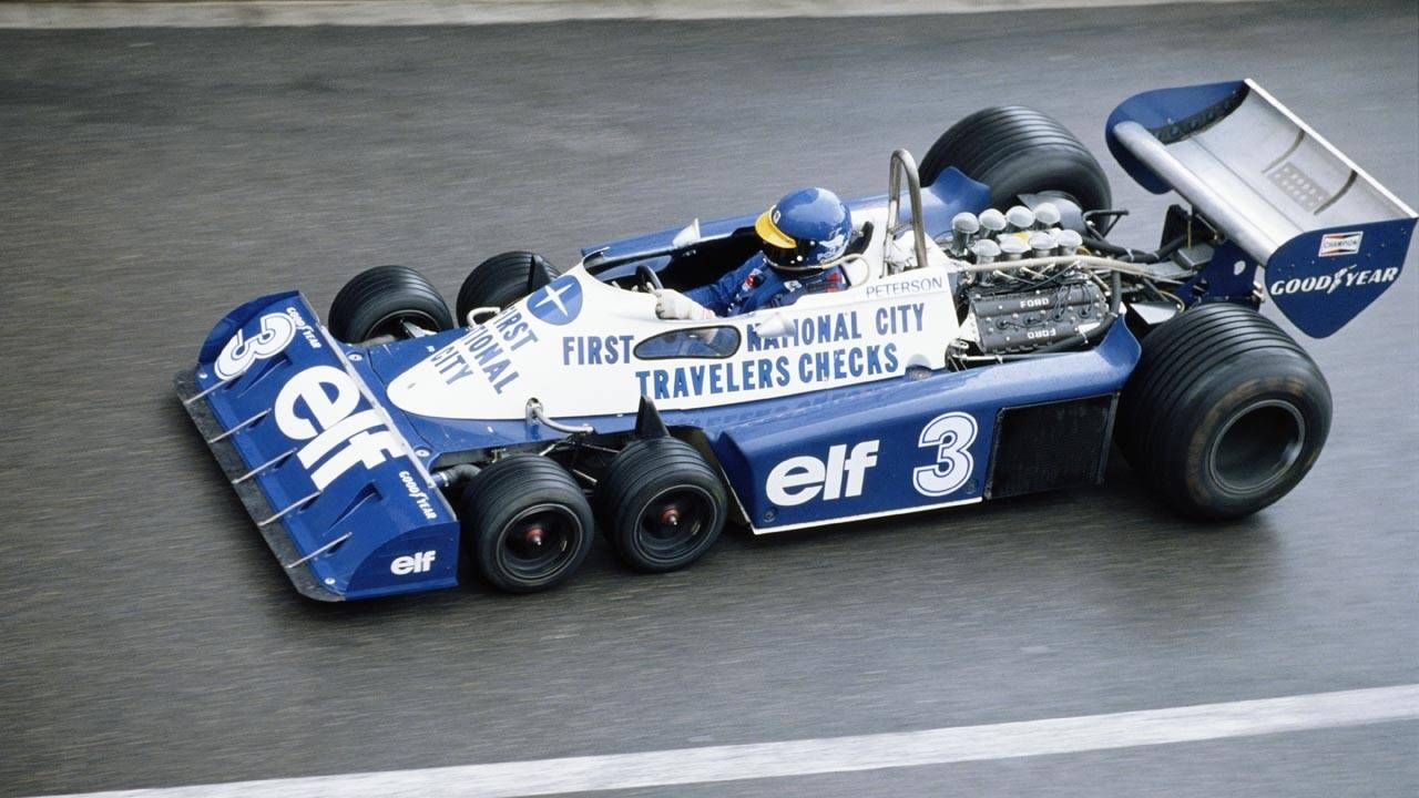 The 5 most amazing Tyrrell race cars