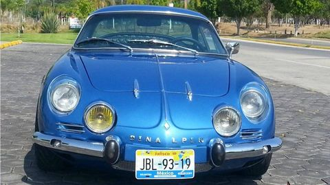 Mexican Built French Dinalpin A110 Renault Car Culture