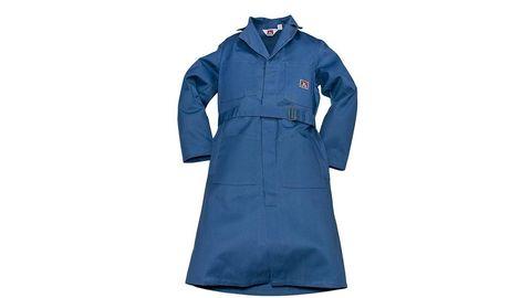 Blue, Collar, Sleeve, Textile, Uniform, Electric blue, Cobalt blue, Pocket, Button,