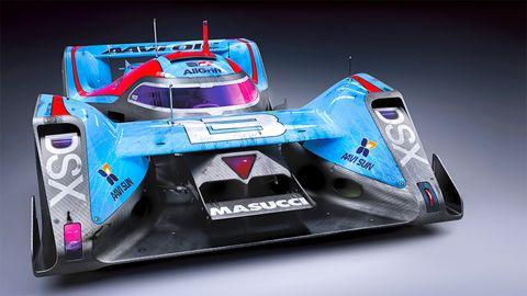 Automotive design, Automotive exterior, Logo, Race car, Auto part, Bumper, Toy, Sports prototype, Formula libre, Plastic,