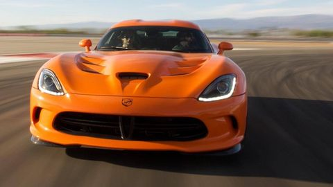 Automotive design, Vehicle, Hood, Orange, Red, Car, Performance car, Sports car, Plain, Supercar,
