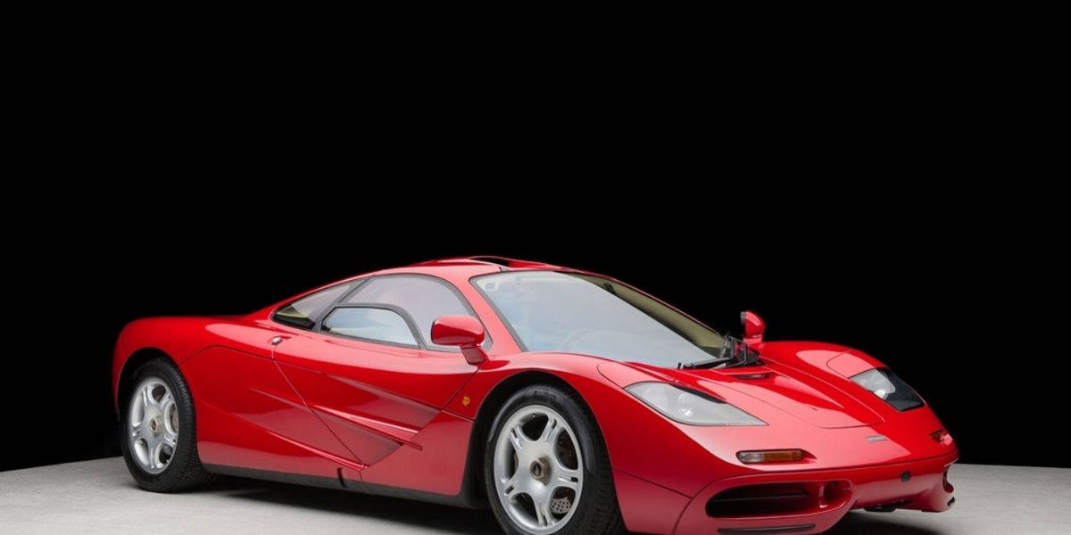 Here is why its impossible to total a McLaren F1