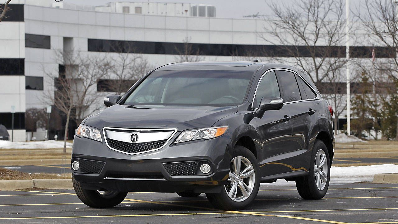 Drive Notes 2014 Acura Rdx