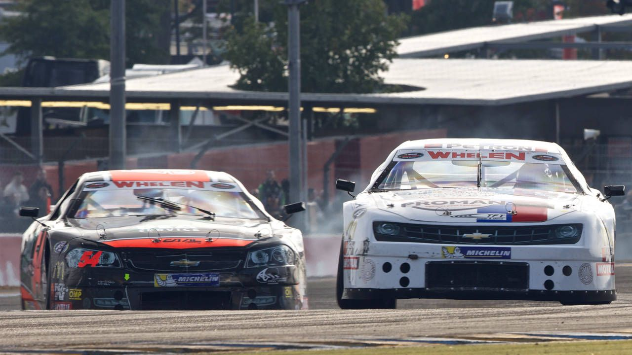 NASCAR's European series is like bumper cars crossed with an orgy