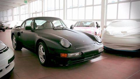 Land vehicle, Vehicle, Car, Regularity rally, Porsche 968, Motor vehicle, Coupé, Sports car, Porsche 959, Supercar,