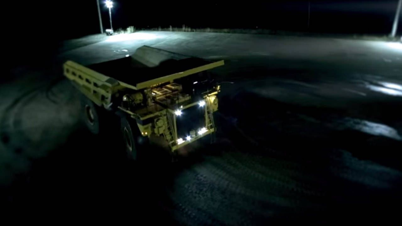 200 Tons of Oppo: Mike Ryan drifts a mining truck