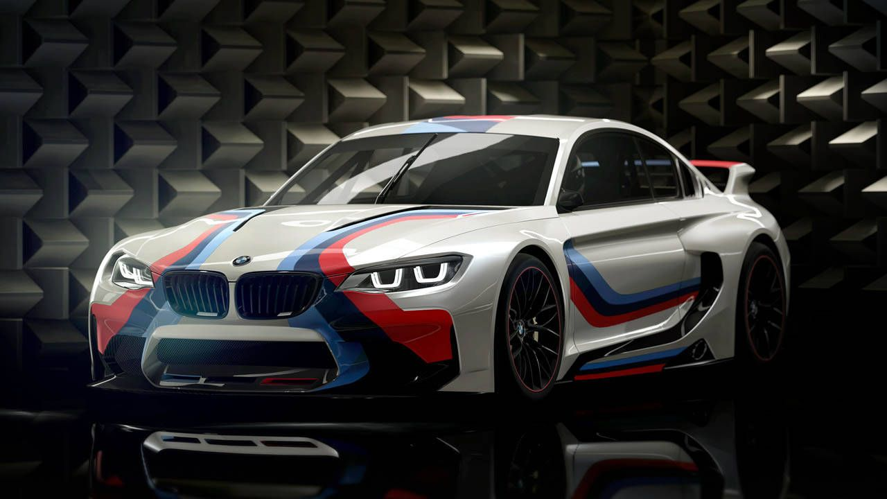 The BMW Vision Gran Turismo is an imaginary M2 race car