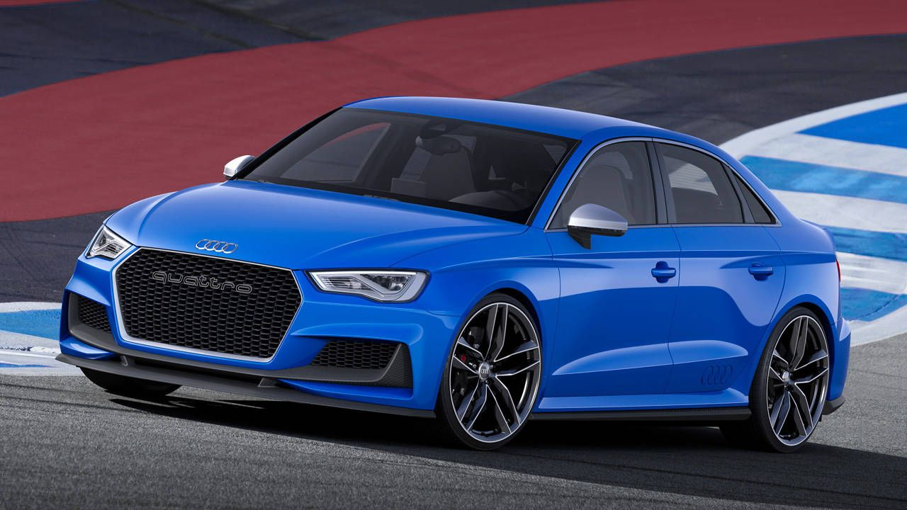The Audi A3 Clubsport is a 525-hp super-S3