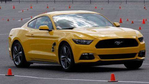 Tire, Automotive design, Vehicle, Yellow, Hood, Car, Headlamp, Performance car, Rim, Automotive tire,