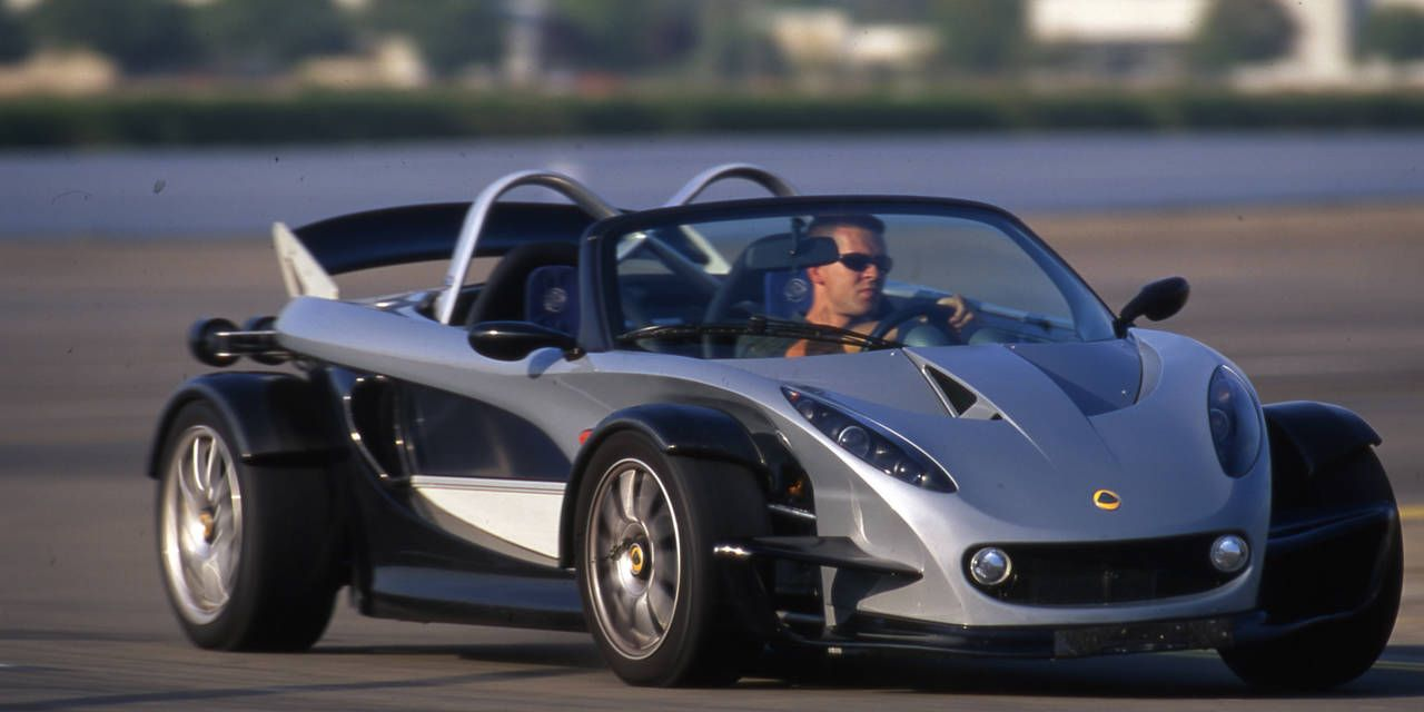 Flashback Review: 2001 Lotus 340R