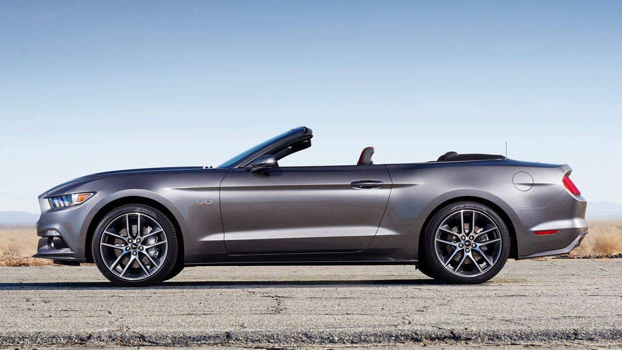 2015 Mustang fastback starts at $24,425, convertible at $29,925