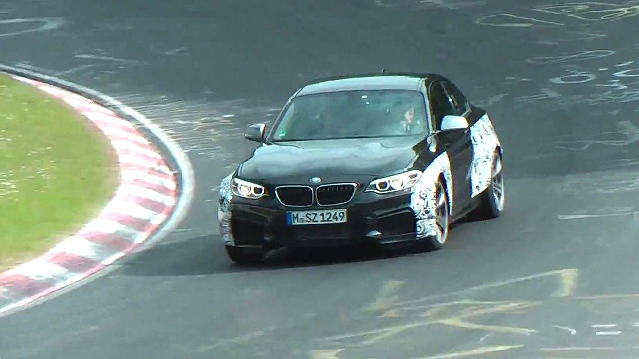 Watch the upcoming BMW M2 run at the Nurburgring