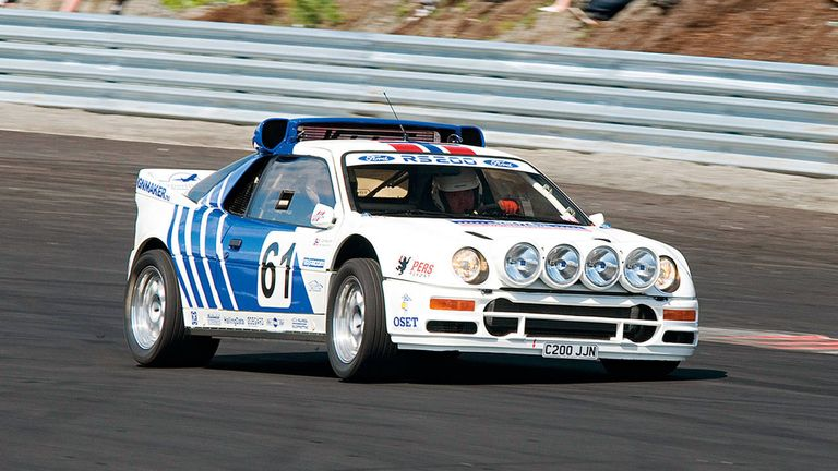 Archive Dive: 1986 Ford RS200 Rally Car