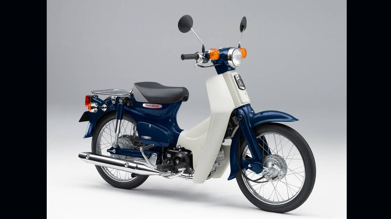 The Honda Super Cub is so iconic, Japan just made it a 3D trademark