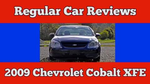 The Ever Entertaining Regular Car Reviews Steps Up To Plate This Week With Its Take On 2009 Chevrolet Cobalt Xfe A Stripped Fuel Economy Focused