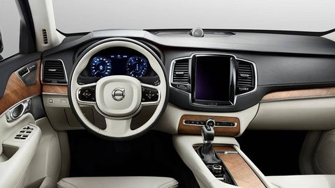 The 2015 Volvo Xc90 Interiors Button Exorcism