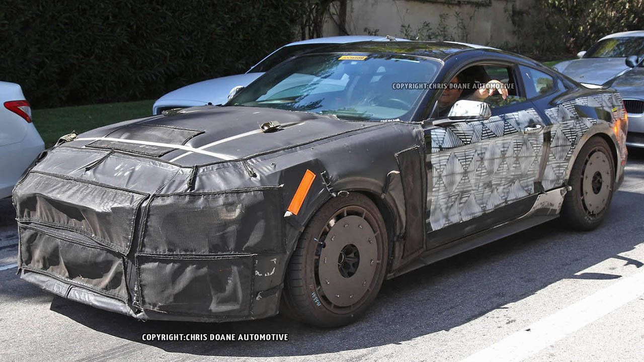 This is the 2016 Shelby GT350 spied in California, with video