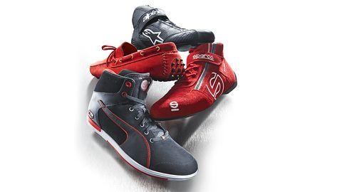 Footwear, Shoe, Sportswear, White, Athletic shoe, Red, Carmine, Black, Grey, Walking shoe,