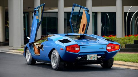 Most Expensive Countach Ever Has A Broken Odometer