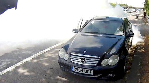 Motor vehicle, Mode of transport, Automotive design, Automotive mirror, Vehicle, Land vehicle, Hood, Headlamp, Vehicle registration plate, Automotive exterior,