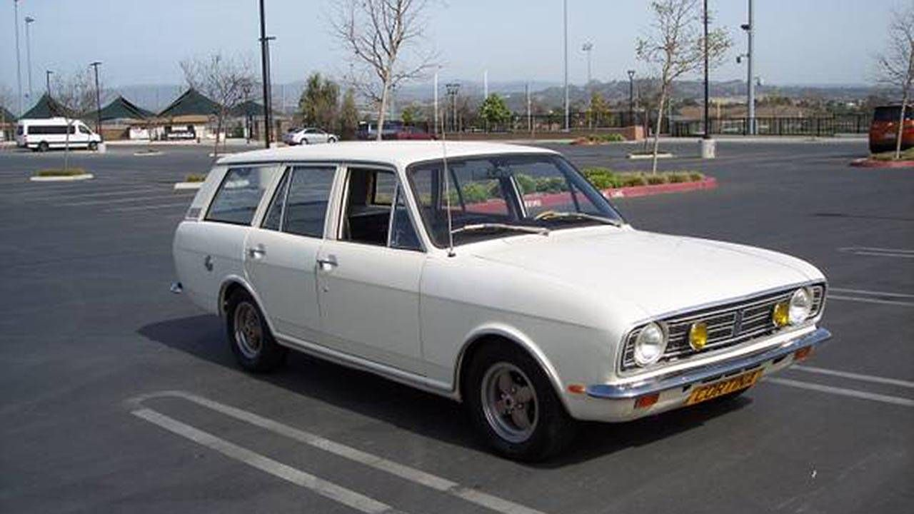 This V8-powered Ford Cortina wagon is gasp-inducingly awesome