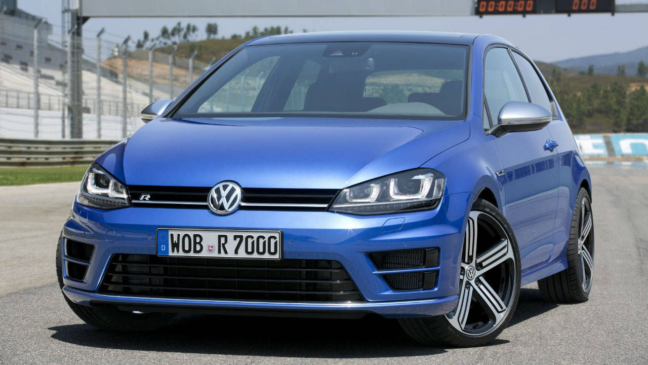The Euro-spec 2015 Volkswagen Golf R, by the numbers