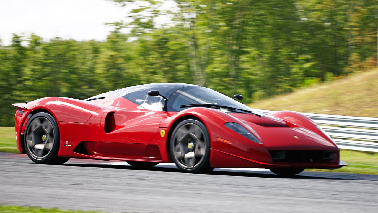 If Jim Glickenhaus ran Ferrari...