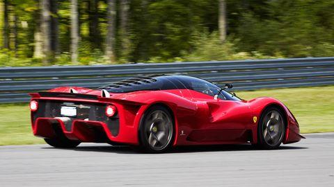Exclusive Drive Ferrari P45 By Pininfarina And P45