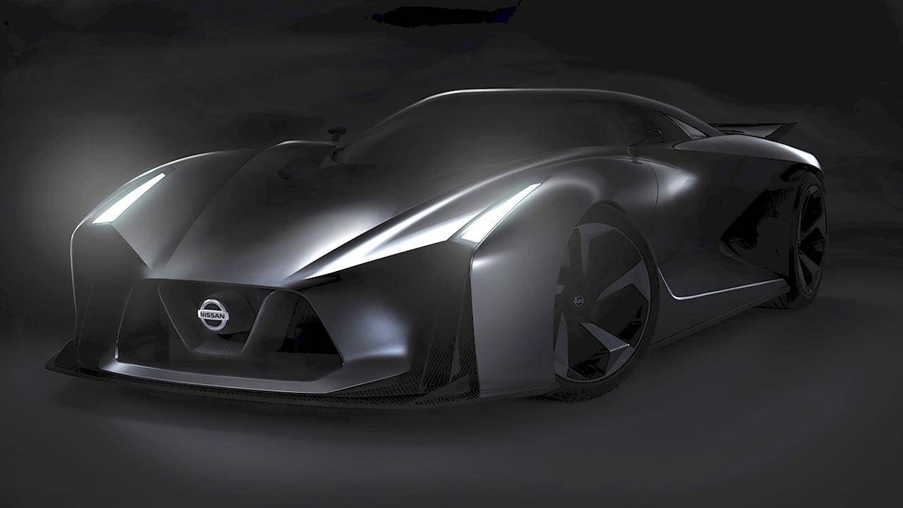 This is the Nissan Gran Turismo Vision concept
