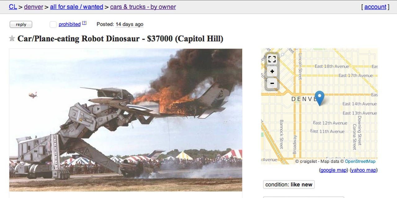 This Is The Craigslist Ad Of The Year