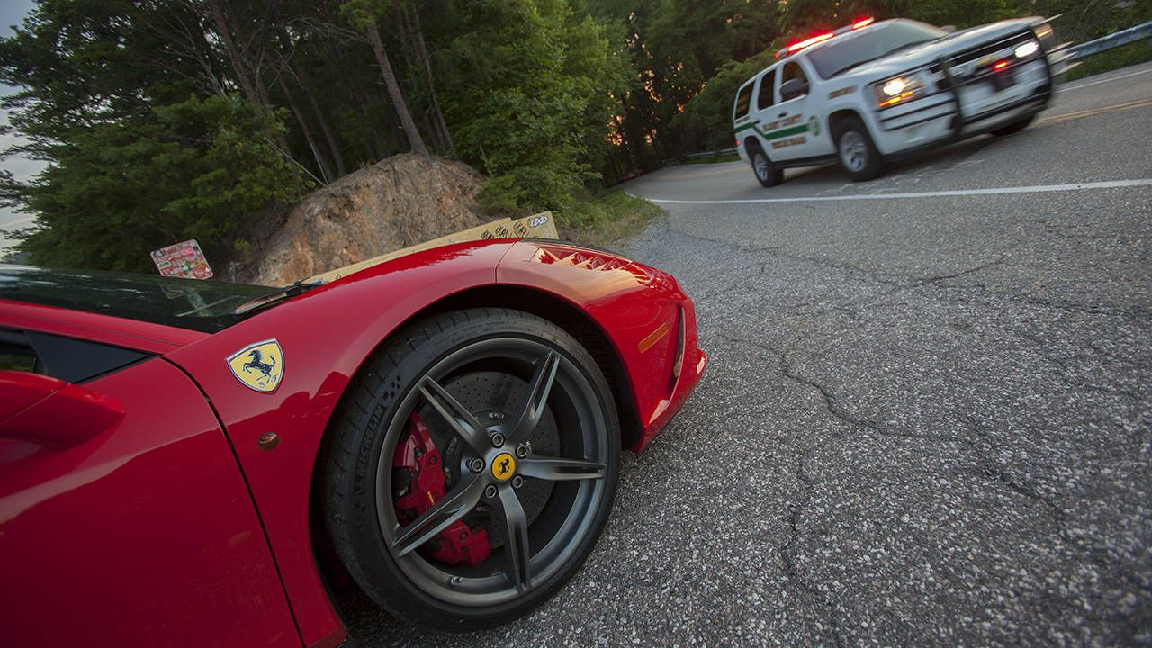 One hour with the Ferrari 458 Speciale