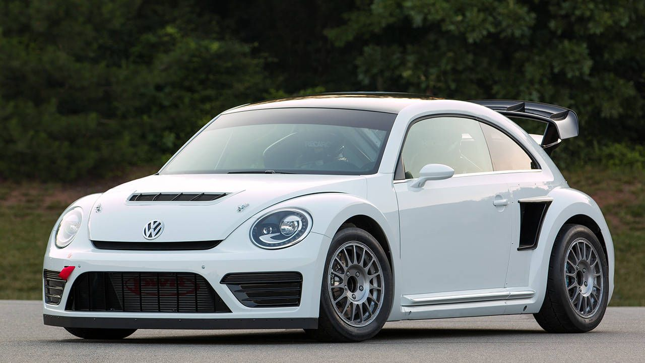 Yes, this Volkswagen Beetle GRC racer is a real thing