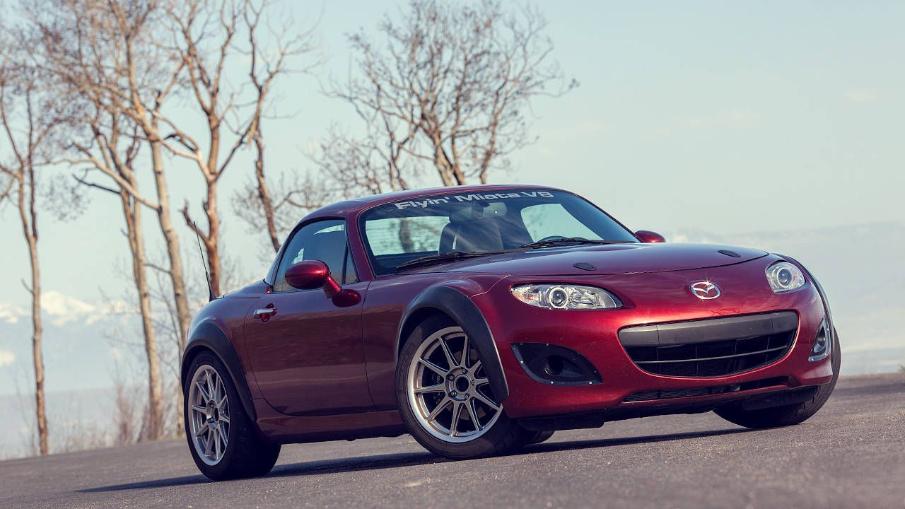 This V8 Miata is the best car I've driven all year