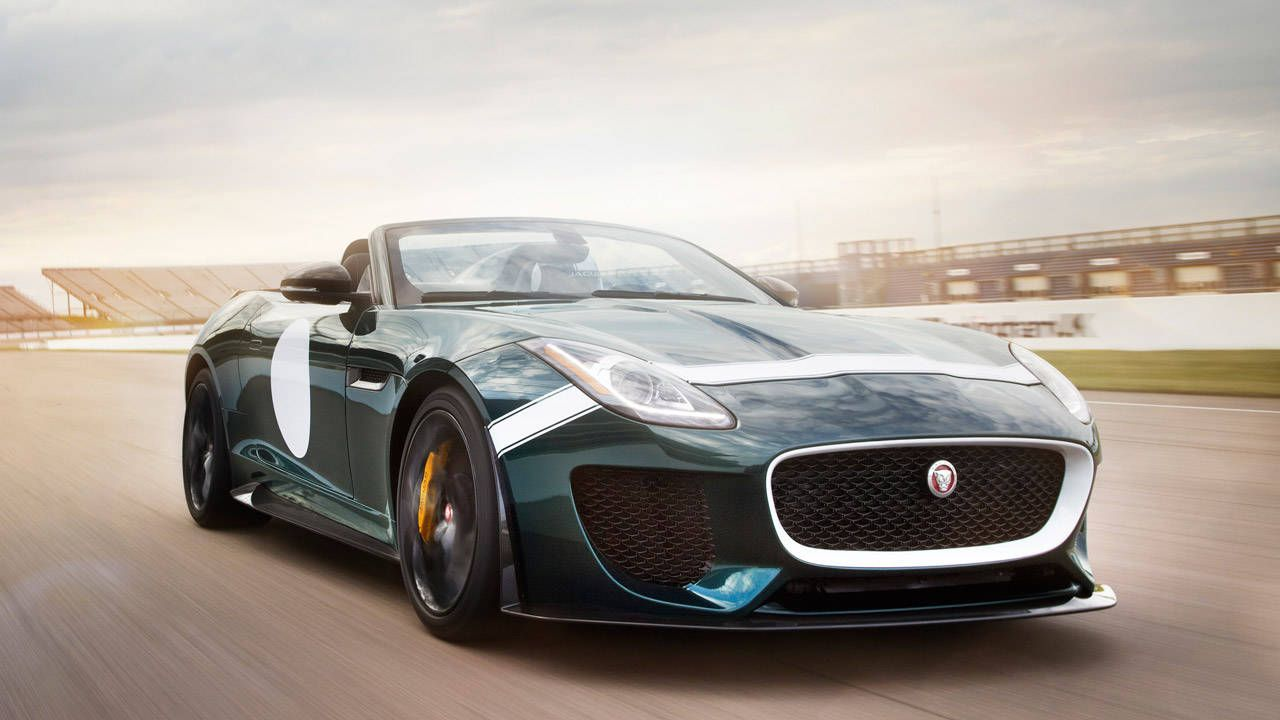 Jaguar F-Type Project 7 roadster heads to production